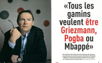 «Tous les gamins veulent être Griezmann ou Pogba, ou Mbappé»