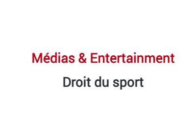 Classement 2021 des cabinets d'avocats en droit du sport